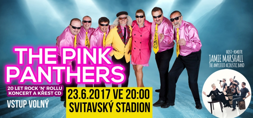 Pink Panthers_BigBoard křest CD